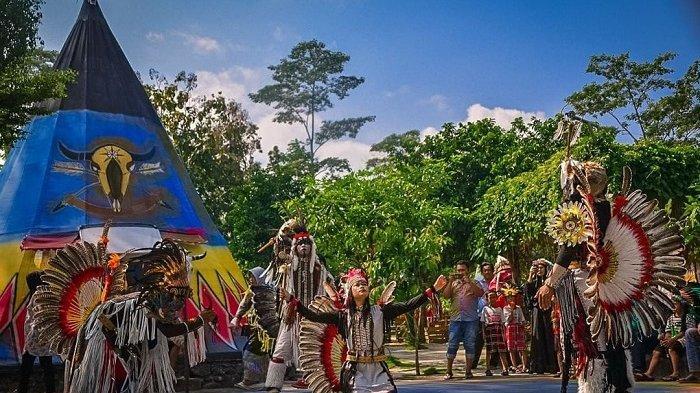 5 Tempat Wisata di Kediri untuk Liburan Akhir Pekan, Coba Serunya Berwisata ke Kampung Indian