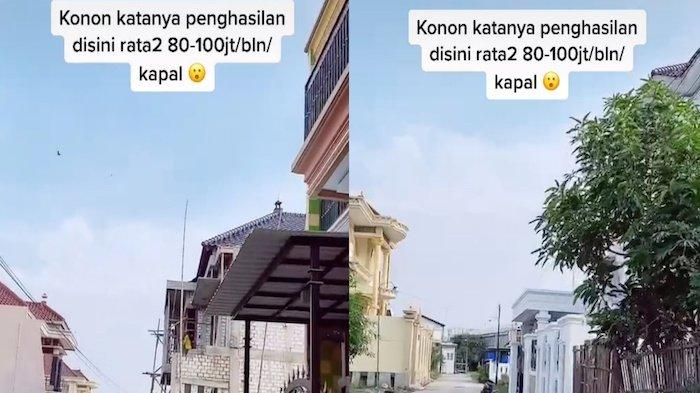 Kampung nelayan di Pati, Jawa Tengah.