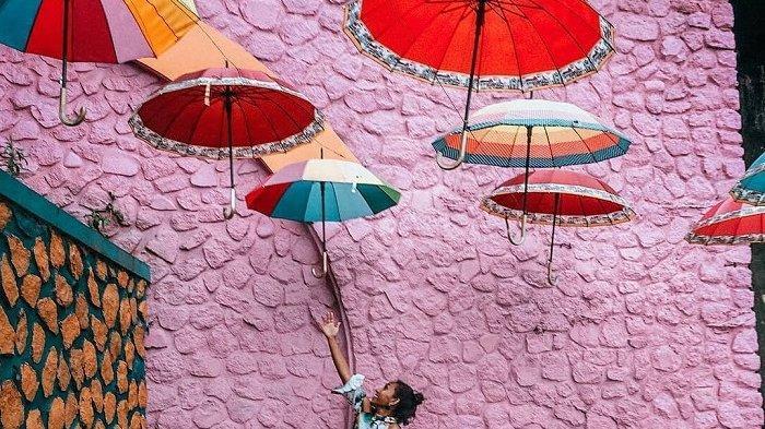 Libur Lebaran di Malang, Kunjungi Kampung Warna Warni Jodipan yang Instagramble