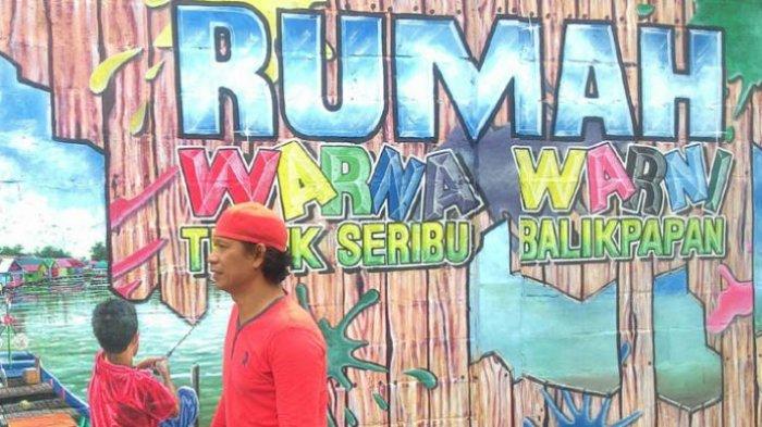 Wisata Balikpapan - Ada yang Baru! Inilah Kampung Warna Warni Teluk Seribu, Bisa Jadi Spot Selfie