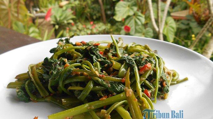 Menu Sahur: Resep Kangkung Tumis Terasi, Hidangan Praktis yang Sehat dan Mudah Dibuat