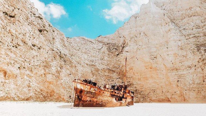 3 Kapal Karam yang Terlihat Mengagumkan di Berbagai Tempat ...