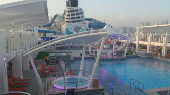 World Dream Cruise, Kapal Pesiar yang Berikan Kemudahan Jelajahi 5 Destinasi Dalam 5 Malam