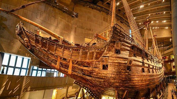 Sejarah Tragis Vasa, Kapal Perang Swedia yang Hanya 'Kuat' Berlayar 20 Menit