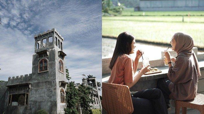 Ngopi Sambil Berburu Spot Foto Instagramable di Lodji Londo Coffee, Bangunannya Mirip Kastil Belanda