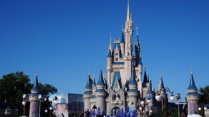Kastil Cinderella di Disney World