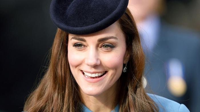 Ilustrasi tampil cantik versi Kate Middleton