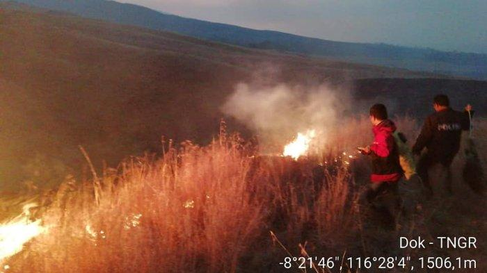 Hutan Gunung Rinjani Kebakaran, Semua Jalur Pendakian Ditutup Sementara