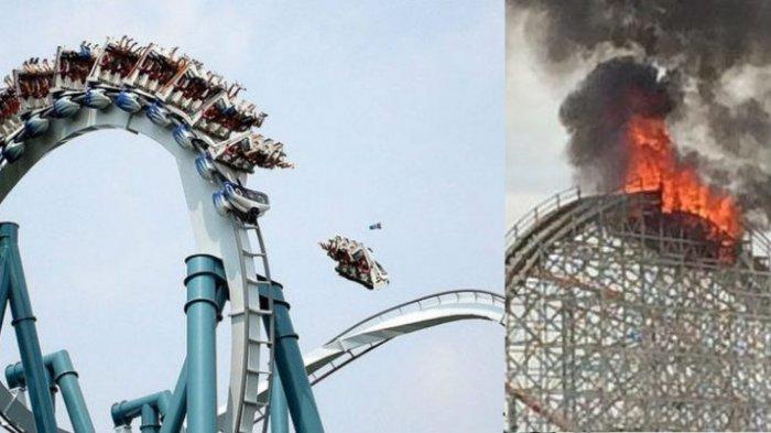 Terlempar Sejauh 25 Meter sampai Terpenggal, 5 Kecelakaan Roller Coaster Paling Mengerikan di Dunia