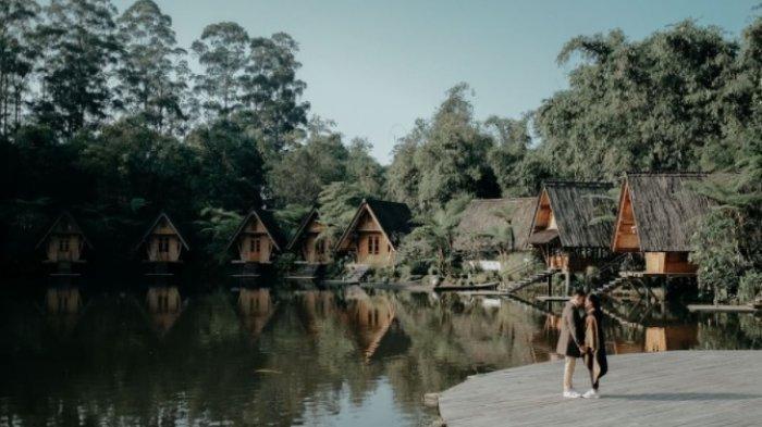 Keindahan alam di sekitar Dusun Bambu yang cantik buat foto-foto hingga prewedding