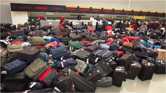 Kekacauan bagasi di bandara
