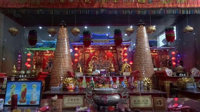 Wisata Makassar - Belajar Sejarah dan Budaya di Klenteng Xian Ma, Lihat  Desain yang Oriental - Tribun Travel