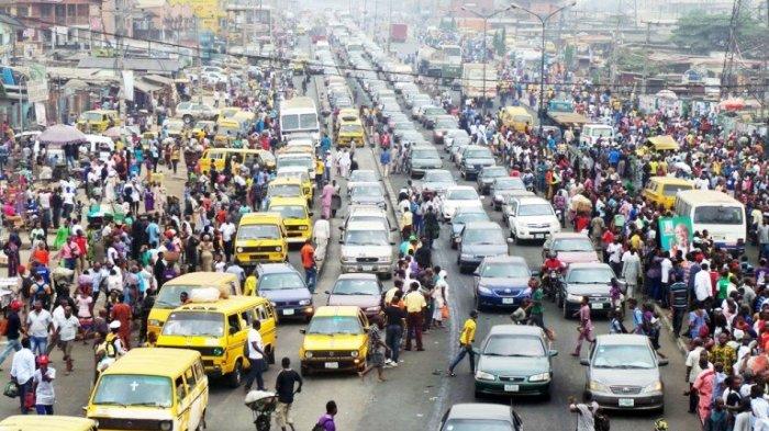 Kemacetan di Kampala, Uganda