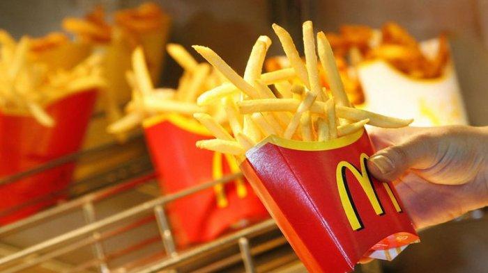 Resep Kentang Goreng ala McDonald's, Cocok untuk Camilan Nanti Siang
