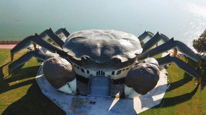 Berukuran Raksasa, Bangunan Berbentuk Kepiting Dibangun di China, Ternyata Ini Fungsinya