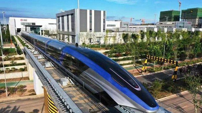 China Hadirkan Kereta Maglev Tercepat di Dunia, Mampu Melaju hingga 600 Km/Jam