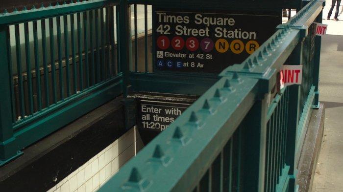 Kereta bawah tanah Times Square