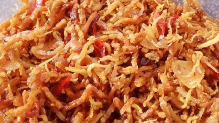 Resep Kering Teri Medan Tahan Lama, Enak Buat Lauk Makan di Kost