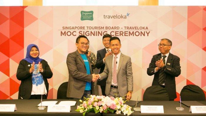 Traveloka dan Singapore Tourism Board Kerja Sama untuk Tingkatkan Jumlah Wisatawan