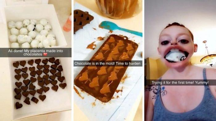 Aksi Ibu Muda Makan Camilan dari Ari-ari Tuai Kontroversi, Kanibalisme?