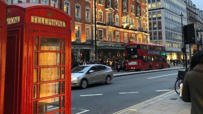 Asal-usul Boks Telepon Umum Warna Merah, Kiosk 6 jadi Ikon Kota London
