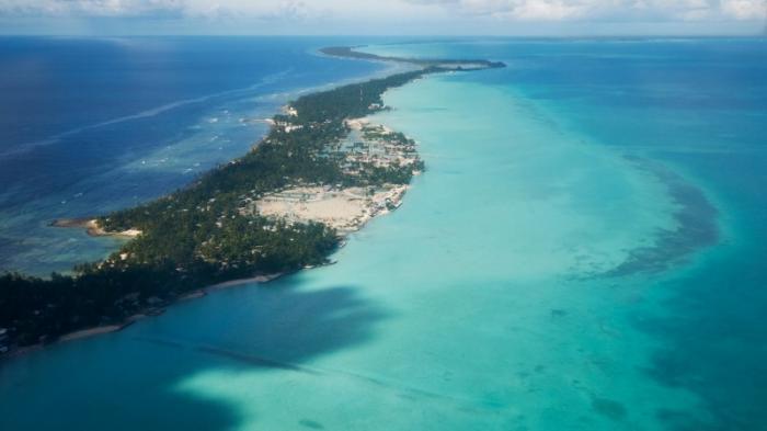 Sebagian wilayah Kiribati