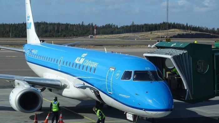 KLM di Gothenburg Landvetter Airport, Landvetter, Swedia