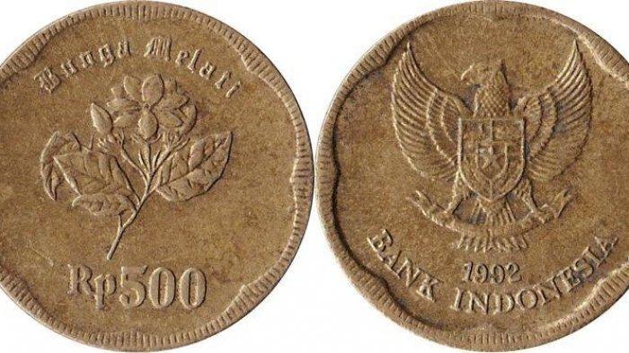 Misteri Uang Logam 500 Rupiah Tahun 1991 yang Diklaim Mengandung Emas, Begini Faktanya