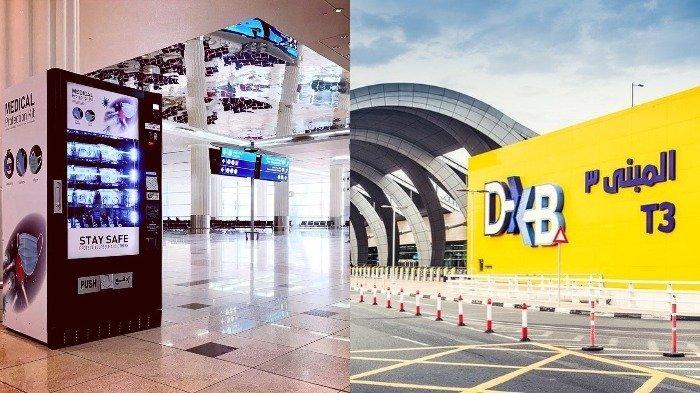 Bandara Internasional Dubai Sediakan Mesin Penjual Otomatis Berisi Produk APD