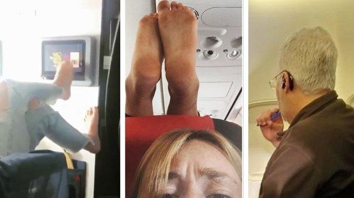 Viral di Medsos, 10 Kelakuan Jorok Penumpang Pesawat yang Tak Patut Ditiru