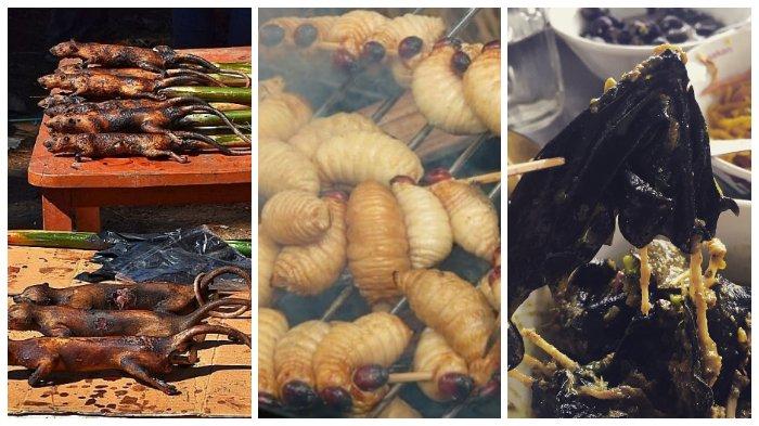 7 Kuliner Ekstrim dari Berbagai Daerah di Indonesia, Pernah Coba Sate Ulat Bulu?