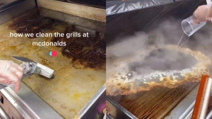 Viral di TikTok, Cara Bersihkan Pemanggang Restoran Cepat Saji Ini Bikin Pelanggan Terkesan
