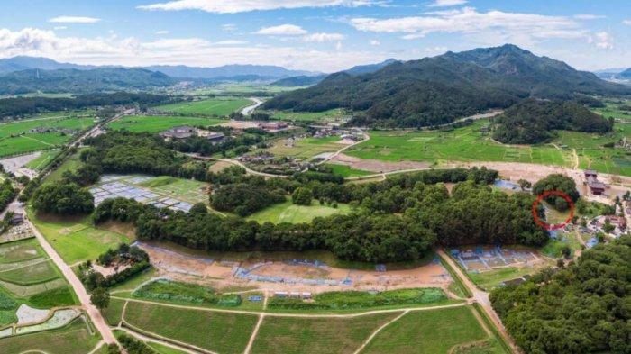 Kompleks istana Wolseong adalah Situs Warisan Dunia UNESCO dan memiliki luas lebih dari 215.000 kaki persegi