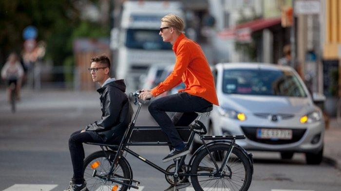 Nikmatnya bersepeda di Kopenhagen