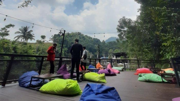 Sensasi Ngopi di Kopi Tubing Bogor, Sambil Nikmati Pemandangan Alam dan Udara Sejuk