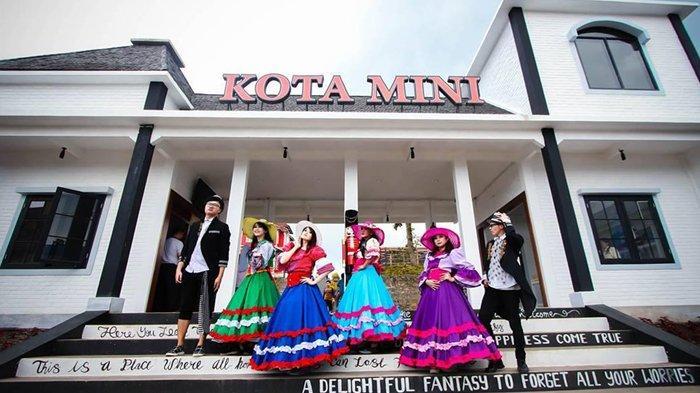 Harga Tiket Masuk Kota Mini Floating Market Lembang Bandung, Cocok Dikunjungi Bersama Keluarga