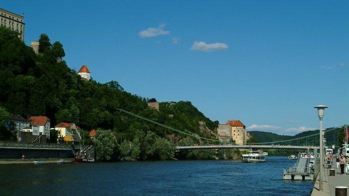 TRAVEL UPDATE: Indahnya Passau, Kota Tiga Sungai di Jerman dengan Bangunan Tua yang Memesona