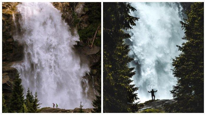 Melihat Krimml Waterfalls, Air Terjun Tertinggi di Eropa yang terletak di Austria