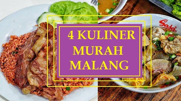 4 Kuliner Murah Khas Malang Dibawah Harga Rp 40 Ribu yang Tawarkan Rasa Makanan Sekelas Bintang Lima