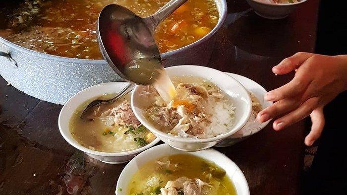 Kuliner Soto Gading di <a href='https://kaltim.tribunnews.com/tag/solo' title='Solo'>Solo</a> jadi menu sarapan pagi