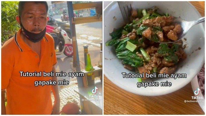 Seorang Wanita Pesan Seporsi Mi Ayam Tanpa Mi, Videonya Viral di TikTok