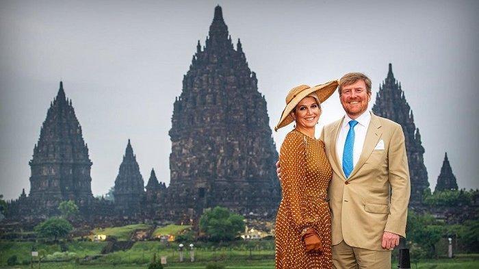 Foto-foto Kunjungan Raja dan Ratu Belanda ke Indonesia, Sempat Kunjungi Candi Prambanan