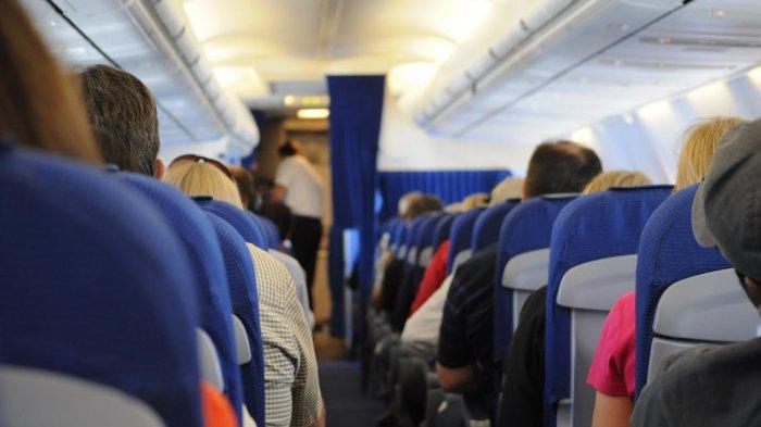Ilustrasi kursi pesawat