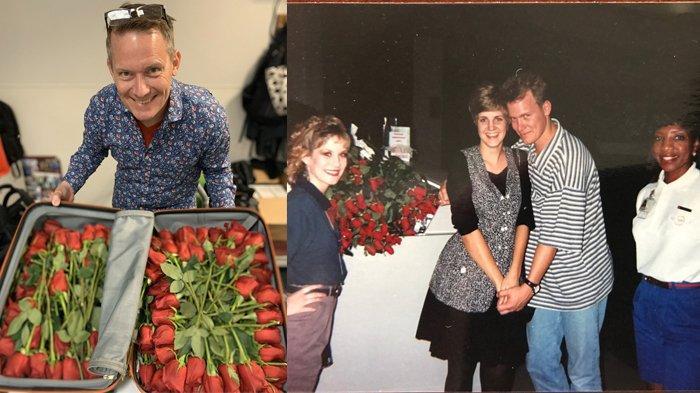 Maskapai Ini Bantu Penumpang Lamar Kekasihnya, Si Pria Bagikan Mawar Merah pada Seluruh Penumpang