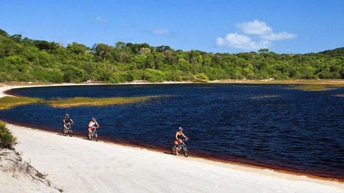 Lagoa da Araraquara atau laguna Coca Cola di Brasil