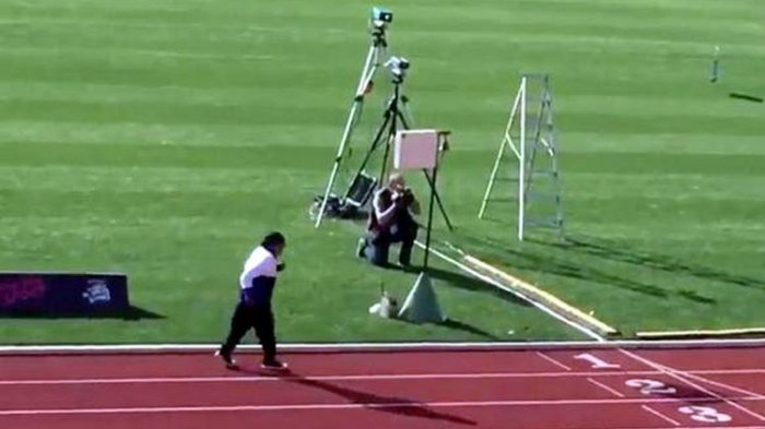 Semangat Tak Kenal Usia! Sudah Berumur 101 Tahun, Wanita Ini Juarai Lomba Lari 100 Meter