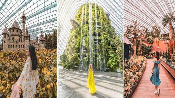 Liburan Akhir Tahun di Singapura, Ini 10 Spot Instagramable di Garden by the Bay