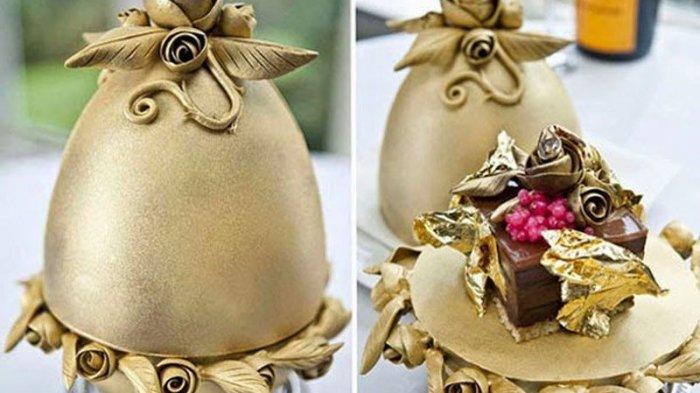 7 Dessert Termahal di Dunia, Ada yang Terbuat dari Emas 24 Karat dengan Harga Setara Honda City