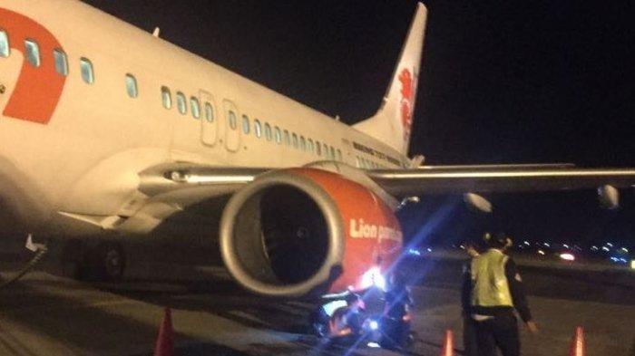 Mesin Pesawat Mati Saat Akan Lepas Landas, Penumpang Lion Air Rute Semarang-Jakarta Histeris