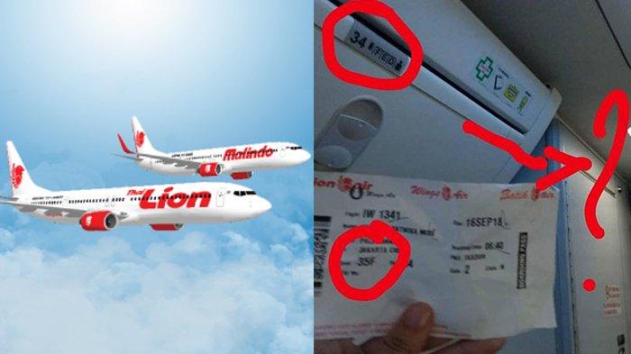 Nomor Kursi Tak Sesuai, Penumpang Lion Air Rute Palembang-Jakarta Tak Dapat Kursi Pesawat